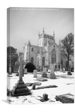 Dunfermline Abbey Black & White