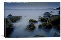 Dalgety Bay coastline, Canvas Print