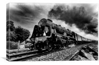 The Royal Scot, Canvas Print