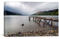Loch Earn, Canvas Print