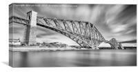 The Bridge Panorama, Canvas Print