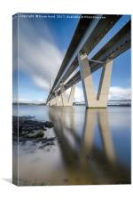 Queensferry Crossing Portrait, Canvas Print