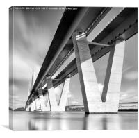 The New Bridge, Canvas Print