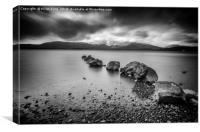 Milarrochy Bay Loch Lomond , Canvas Print