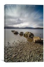 Loch Lomond at Milarrochy Bay , Canvas Print