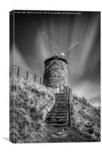 Windmill at St Monans, Canvas Print