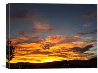 Glory Sunrise, Canvas Print