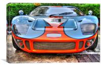 Ford GT, Canvas Print