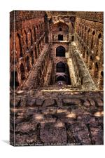 The Step Well, Canvas Print