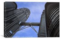 Patronas Towers, Canvas Print