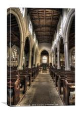 St Neots Church, Canvas Print