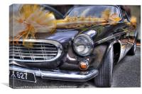 Wedding car, Canvas Print