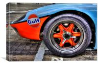 Ford GT wheel, Canvas Print