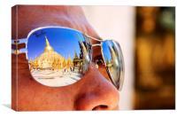 Shwedagon Pagoda, Canvas Print