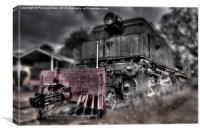 Train 87, Canvas Print