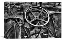 Tractor, Canvas Print