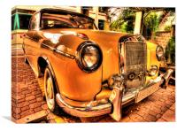 Old Man's Merc, Canvas Print