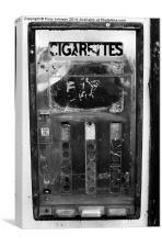 3x10=Cigarettes, Canvas Print
