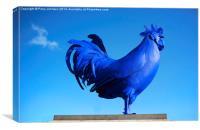 Blue, Canvas Print