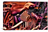 Harley, Canvas Print