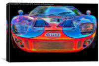 GT40, Canvas Print