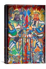 Doors, Canvas Print
