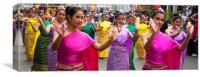 Thai Dancers, Canvas Print