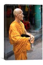 Malaysian Monk , Canvas Print