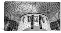 British Museum, Canvas Print