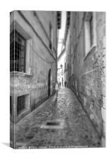 Street life, Canvas Print
