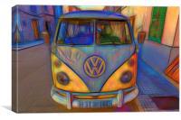 VW Split Screen, Canvas Print