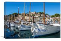 Port de Soller, Mallorca, Canvas Print