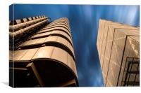 Lloyds and Leadenhall Buildings, Canvas Print