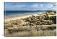 Hayle Sand Dunes, Canvas Print