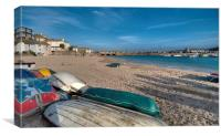 Early evening St Ives, Canvas Print