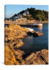Portrait of Looe, Canvas Print
