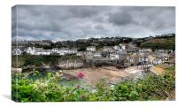 Port Isaac North Cornwall, Canvas Print