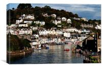 Early morning on the River Looe, Canvas Print