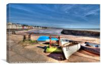 Boat Cove at Dawlish in South Devon, Canvas Print
