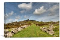 The Cheesewring at Stowes Hill Minions Bodmin Moor, Canvas Print
