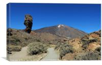 Mount Teide National Park in Tenerife, Canvas Print