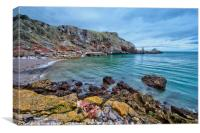 Redgate Beach and Long Quarry Point from Ansteys, Canvas Print