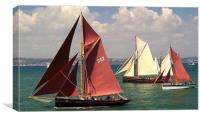 The Age of Sail, Canvas Print