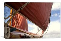 Red Sails, Canvas Print