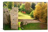 A View From The Castle, Canvas Print