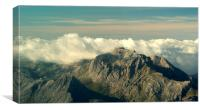 Mallorca Mountains Puig Major, Canvas Print