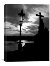 Charles Bridge Prague, Canvas Print