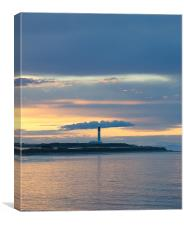 Lighthouse in Lossiemouth, Canvas Print