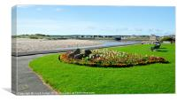 lossiemouth in summer, Canvas Print