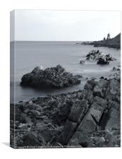 Scottish beach, Canvas Print